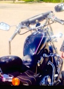 BEAUTIFUL BIKE, CUSTOM FEATURES, ONLY 1,999KM, LADY DRIVEN