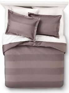 FIELDCREST 3PC DUVET COVER SET FOLIE FULL DOUBLE QUEEN