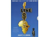 Live 8 DVD (Unopened) 2005