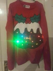 Christmas jumpers x2