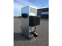 New Air Heater NG30 for 400 square meters for all oils, wood and coal.