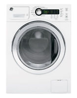 **FLOOR MODEL** - GE WCVH4800KWW Front Load Washer - White