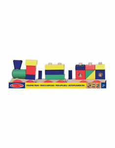 Brand New Unopened Melissa and Doug - wooden Stacking Train