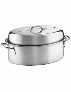 Stainless Steel Roaster $15