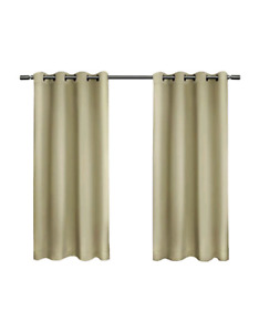 3 sets of Exclusive Home Sateen Blackout Window Panel