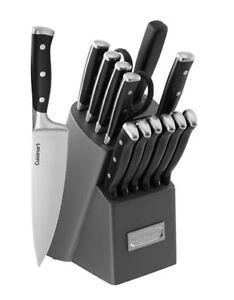 CUISINART 15 Pc Forged Triple Riveted Knife Block Set - BNIB