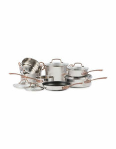 CUISINART Metal Expressions Stainless Steel 12-Piece Cookware Se