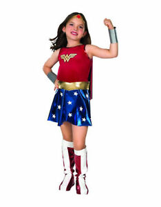 NEW: RUBIES COSTUMES Wonder Woman Child Costume for 3-4 years