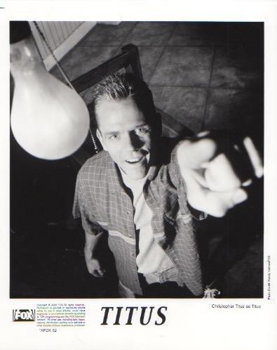 "Christopher Titus ""Titus"" TV Still Photo"