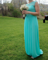 Size 4 Mint Bridesmaid Dress