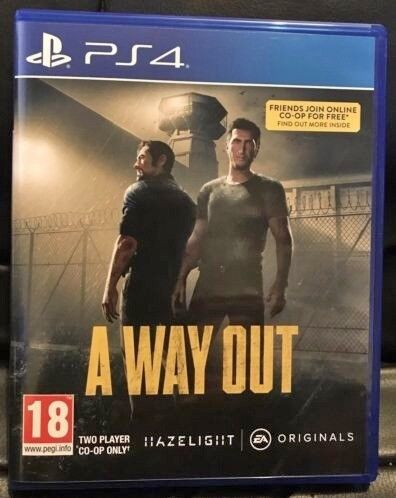 A way out ps4 game 2 player co op in motherwell north lanarkshire a way out ps4 game 2 player co op freerunsca Images