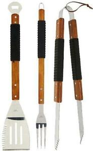 BRAND NEW DELUX BBQ TOOL SET -- THE PERFECT GIFT FOR FATHER'S DAY -- AMAZING SURPLUS PRICE $14.95