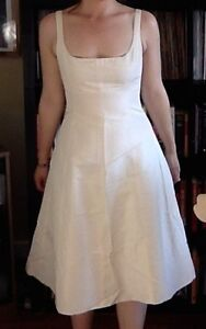 J Crew Tea Length Wedding Dress