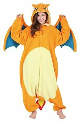Pokemon Kigurumi Lizard Cosplay Costume Charizard Pajama Japan freeze F/S JP