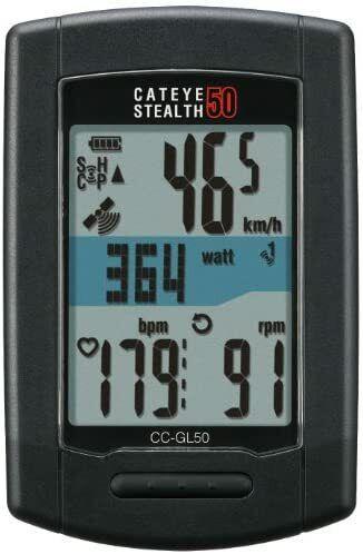 CAT EYE Stealth 50 [CC-GL50] GPS ANT + Correspondence Speed Sensor-Less