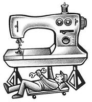 Sewing machine repairs and servicing.