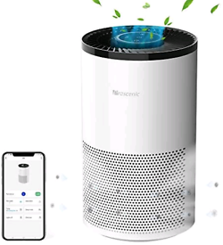 Proscenic A8 Air Purifier for Home with H13 True HEPA Filter, CADR 220