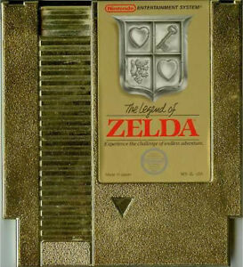 The Legend of Zelda NES w Box