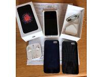 iPhone SE - 64GB - Space Grey - excellent condition - big set