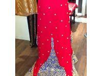 Stunning Asian Bridal Lengha fits size 10-12 UK