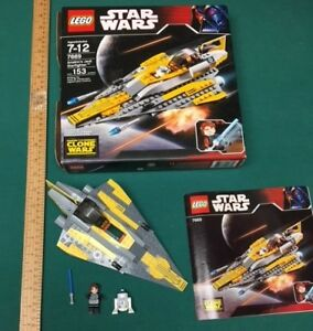 Star Wars The Clone Wars Anakin's Jedi Starfighter LEGO 7669