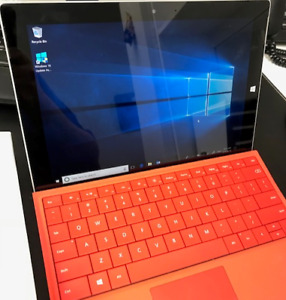Barely Used Surface Pro 3 - Includes Type Cover, Box and Cables