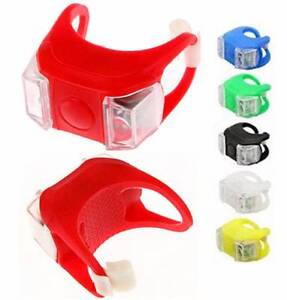 Waterproof Silicone Bicycle Light Front Rear Tail Flesh Light Forrestdale Armadale Area Preview
