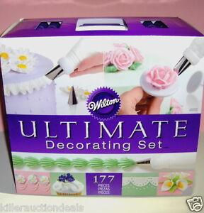 Wilton Ultimate Cake Decorating Set Amp