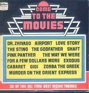 COME TO THE MOVIES Vinyl 1975 2LP Set *30 Best Movie Themes