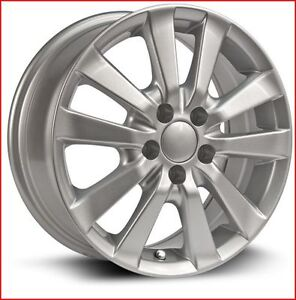 Roues (Mags) RTX OE modèle Sprinter argent, 15''  5-100 (Toyota)