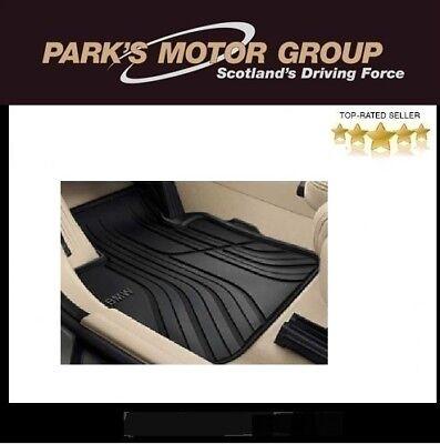 BMW Genuine Front All Weather Carpet Floor Mats Black F45 F46 51472287856
