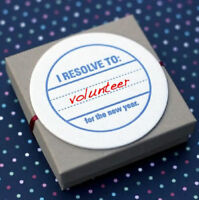 Keep your New Year's Resolution to Volunteer!