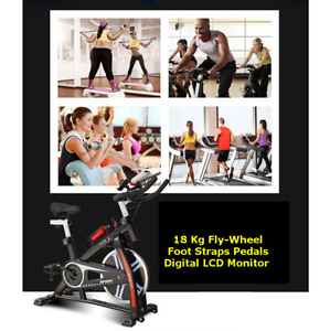 Spin Exercise Bike( red / black) Clayton South Kingston Area Preview