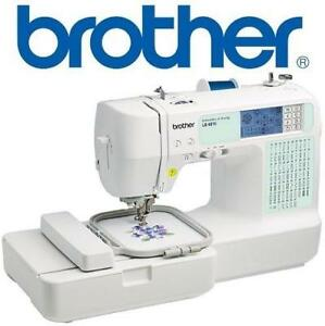 OB BROTHER SEWING MACHINE LB6810 224932984 OPEN BOX LB6810 EMBROIDERY COMPUTERIZED