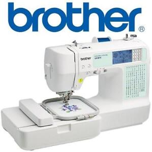 NEW BROTHER LB6810 SEWING MACHINE LB6810 158321691 COMPUTERIZED SEWING EMBROIDERY MACHINES 67 BUILT IN STITCHES ARTS ...
