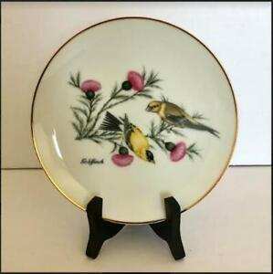 1986 Gold Finch Collector Plate $6