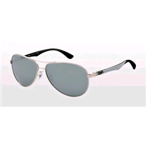 69dc61706446e Raybans Silver Mirror Aviator 58mm Sunglasses
