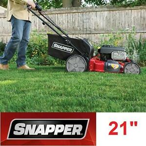 "USED SNAPPER 21"" REAR DRIVE MOWER 175cc SIDE DISCHARGER REAR BAG MULCHING MOWERS LAWNMOWER LAWNMOWERS PROPELLED"