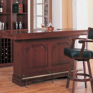Cherry Wood Home Bar