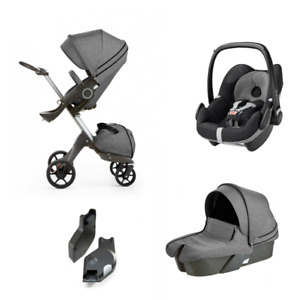 Stokke Xplory Stroller with bassinet+winter kit+(car seat)