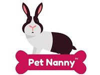 Pet & Bunny Sitting - Home Visits