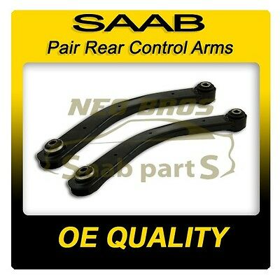 2 x Rear Suspension Upper Control Arms for Saab 9-3 03-12, 13230274