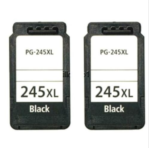 Canon PIXMA MG2920 MG2922 MG2924 MX492 2 PACK PG245 XL Black