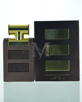 Armaf Shades Wood For Men 100 Ml 3.4 Oz Eau De Toilette For (Shades Wood)