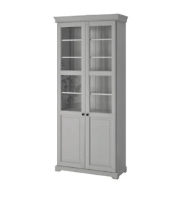 Ikea Liatorp Glass door cabinet (barely used)!