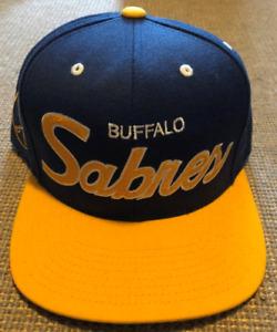 Mitchell & Ness NHL Buffalo Sabres Hockey Snapback Hat