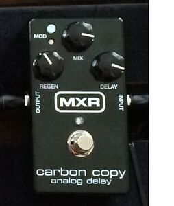 MXR Carbon Copy Delay Pedal never used