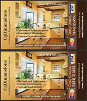 Peintres Professionnels - C3Dimensions - Professional Painters