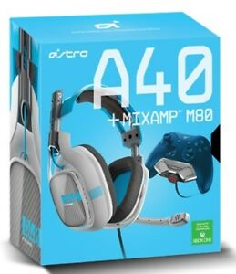 NEW ASTRO XBOX ONE A40 + MIXAMP M80 GAMING HEADSET HEADPHONES