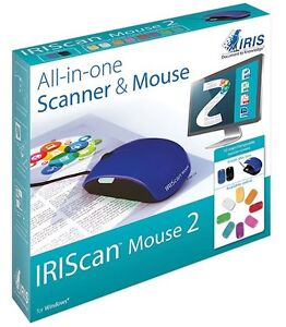 Souris-scanneur / Scanner & Mouse, All-in-one! IRIScan Mouse 2